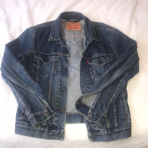 levi's denim jacket for sale